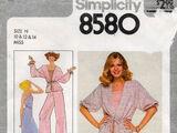 Simplicity 8580 B