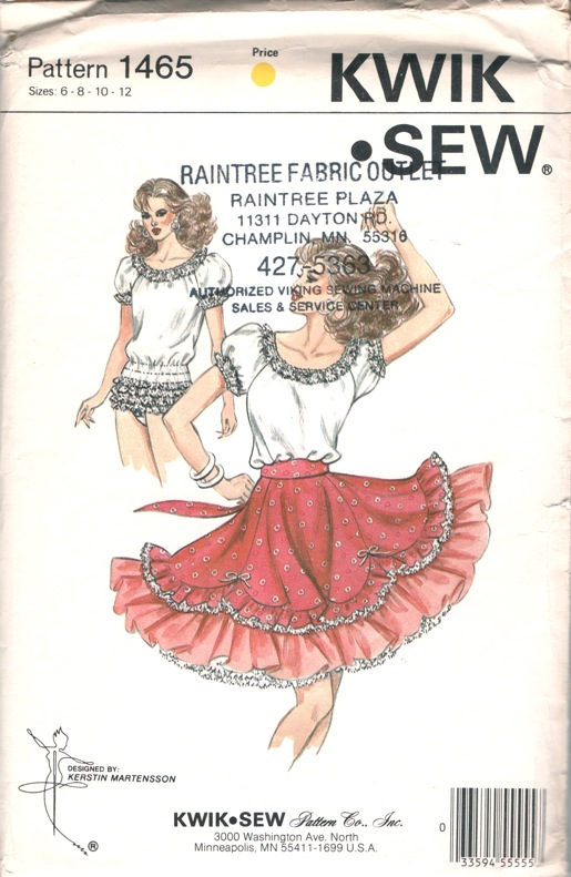 Kwik Sew 1465 | Vintage Sewing Patterns | FANDOM powered by Wikia