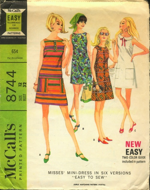 McCall/'s 8744 Misses/' Dresses    Sewing Pattern