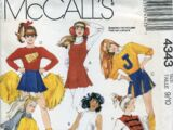 McCall's 4343 B