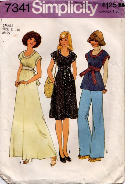 Simplicity 7341 A | Vintage Sewing Patterns | FANDOM powered by Wikia