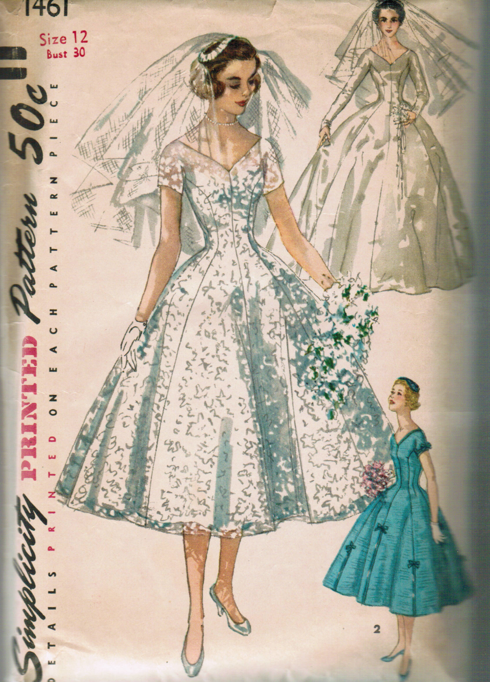 Simplicity 1461 Vintage Sewing Patterns Fandom Powered