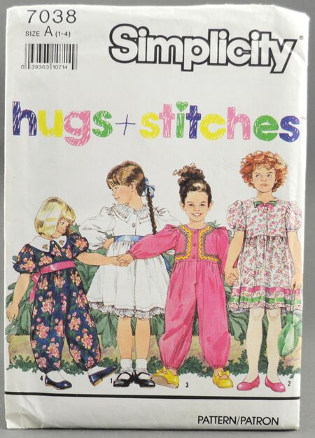Simplicity 7038 Girls Jumpsuit & Dress 1