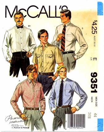 McCalls 1984 9351