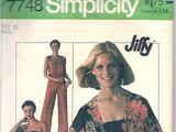 Simplicity 7748 A