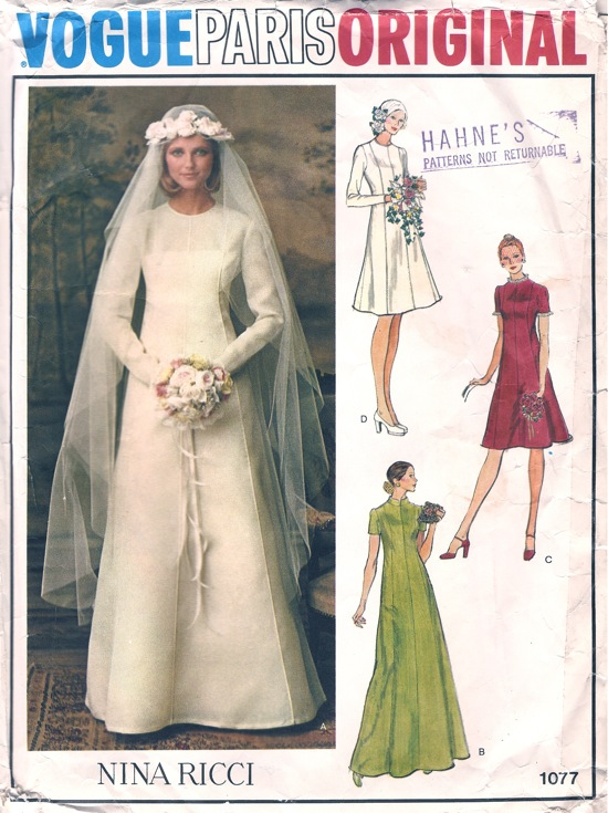 Vogue 1077 B | Vintage Sewing Patterns | FANDOM powered by Wikia