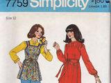 Simplicity 7759 A