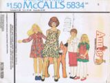 McCall's 5834 A