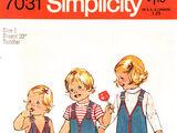 Simplicity 7031 A