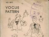 Vogue 6612
