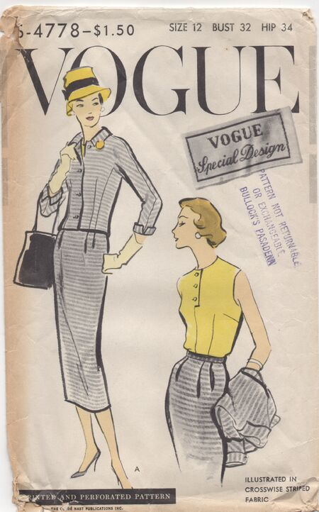 Vogue s4778