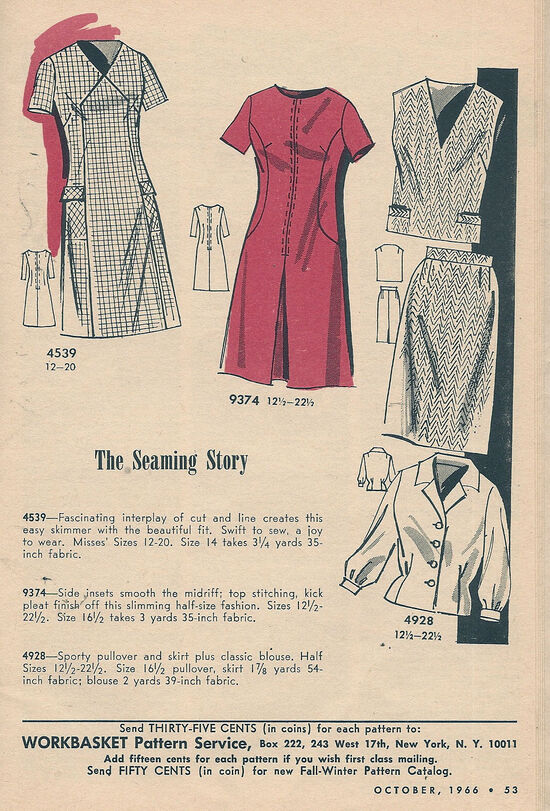 Mail Order 9374 A | Vintage Sewing Patterns | FANDOM powered