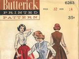 Butterick 6263 A