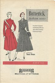 Butterick March 1950