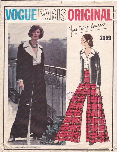 Pattern - Vogue 2389 02