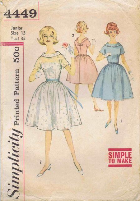 Simplicity 1962 4449