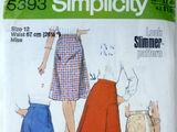 Simplicity 5393 A