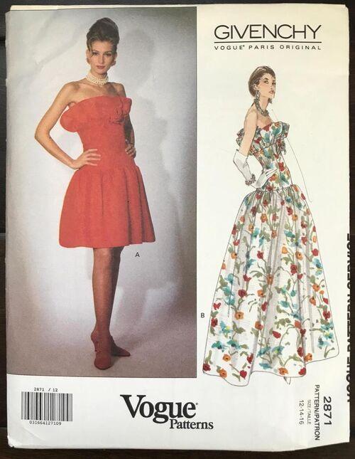 2019-07-30 Givenchy pattern Vogue 2871