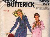 Butterick 6025 A