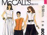 McCall's 8036 A