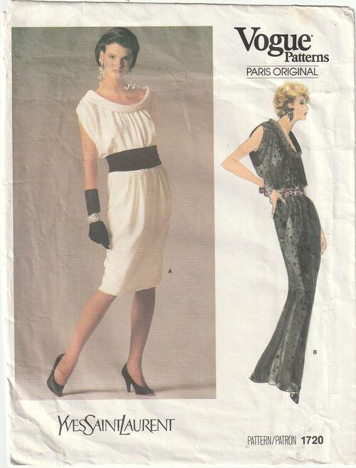 Pattern - Vogue 1720 03