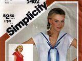 Simplicity 5482 A