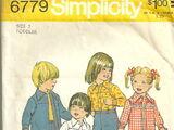 Simplicity 6779 A