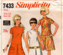 Simplicity 7433 B