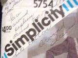 Simplicity 5754 A