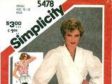 Simplicity 5478 A
