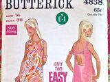 Butterick 4838 A