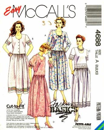 McCalls 1990 4688