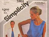 Simplicity 5363 A