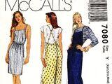 McCall's 7080 A