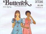 Butterick 3736 A