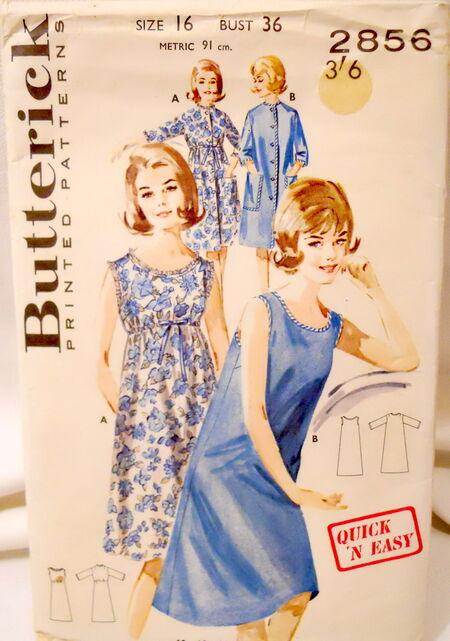Butterick 2856 image