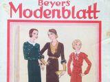 Beyers Modenblatt No. 20 Vol. 10 1931