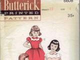 Butterick 6608 A