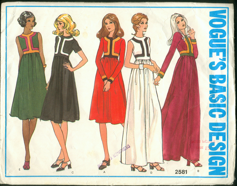 Vogue 2581 | Vintage Sewing Patterns | FANDOM powered by Wikia