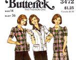 Butterick 3472 A