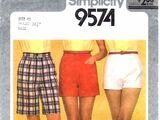 Simplicity 9574