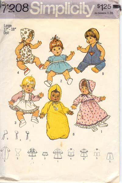 W7208s 1975 dollclothes