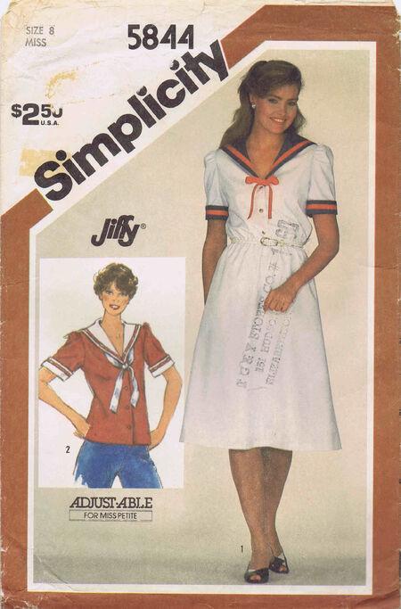 Simplicity 1982 5844