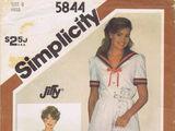 Simplicity 5844 B