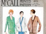 McCall 4926 A