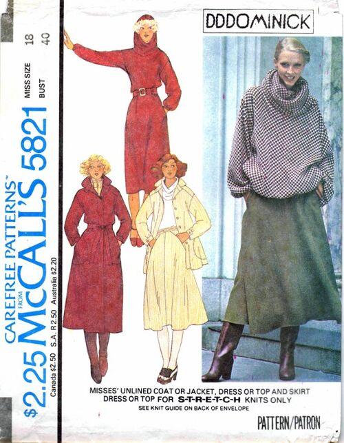 McCalls 1977 5821