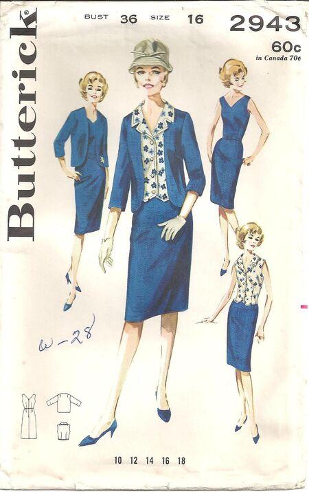 Butterick 2943