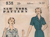 New York 838 A