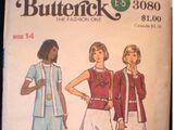 Butterick 3080 A