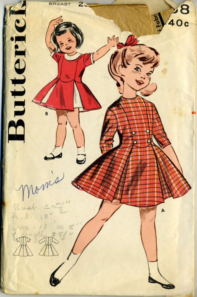 Butterick 9558 | Vintage Sewing Patterns | FANDOM powered by Wikia